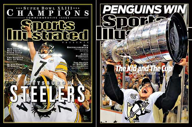 Sometimes fans are blessed with unforgettable years when their city's teams are winning championships and its legendary stars are shining bright. In February, Ben Roethlisberger led Pittsburgh's Steelers to a dramatic 27-23 Super Bowl victory over the Arizona Cardinals, thanks to a spectacular end zone catch by Santonio Holmes with 35 seconds left. Four months later, Sidney Crosby and the Penguins captured the Stanley Cup by rallying from a three games to two deficit against the defending champion Detroit Red Wings. Alas, the Pirates achieved baseball infamy with their 17th straight losing season, but times were brighter in 1979, a year included in this gallery of 10 golden years, some of which do not fall within a strict 12 month calendar period.