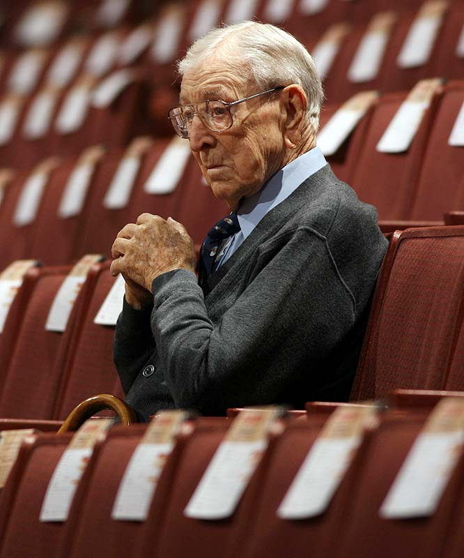 UCLA legend John Wooden turned 99 on Wednesday, Oct. 14.  To celebrate, we look back at his life in pictures.