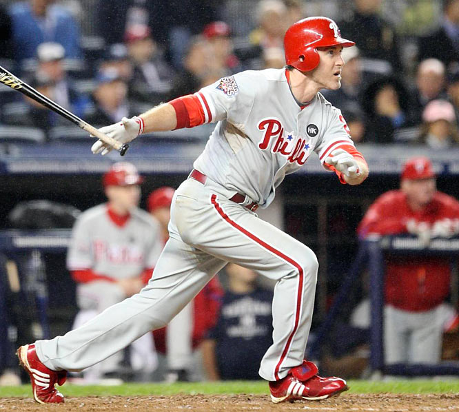 Utley's two homers against the Yankees gave him four for the 2009 postseason.