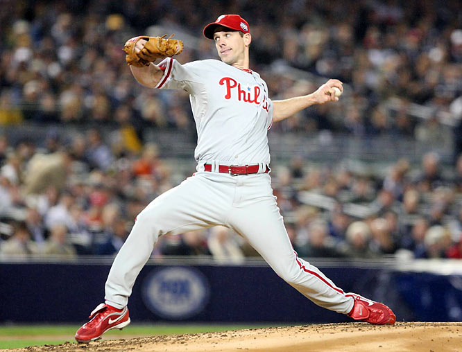 Cliff Lee pitched a complete game, striking out 10 and holding the Yankees to six hits.