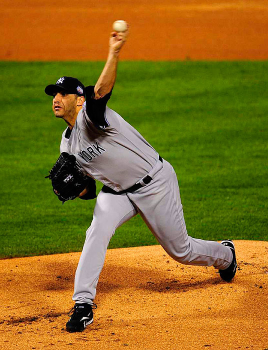 After giving up three runs in the second, Andy Pettitte settled down and allowed only two more hits and one additional run over the next four frames to get the win.