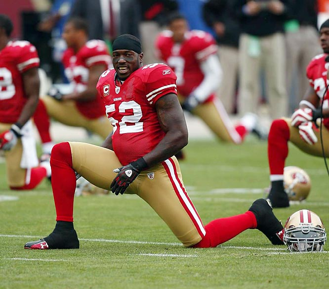 With 49 tackles and two interceptions in the first five weeks, Willis has led the 49ers to their best start since the 2002 season, when they won the division title.