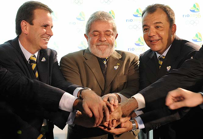 "The Brazilian president Luiz Inacio Lula da Silva said Brazil wants to ""show that the world that yes we can, we can do it,"" when making one last plea for his country to get the bid."