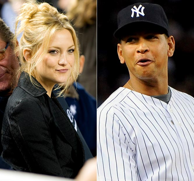 Lost amid the excitement over Rodriguez's game-tying home run against the Twins in Game 2 of the ALDS is that we finally have a blonde celebrity in the stands who isn't a curse but a good-luck charm. Ever since A-Rod has been with Hudson, he and the Yankees have been on a roll. And A-Rod finally became something no one ever thought he could be -- a clutch hitter in October.