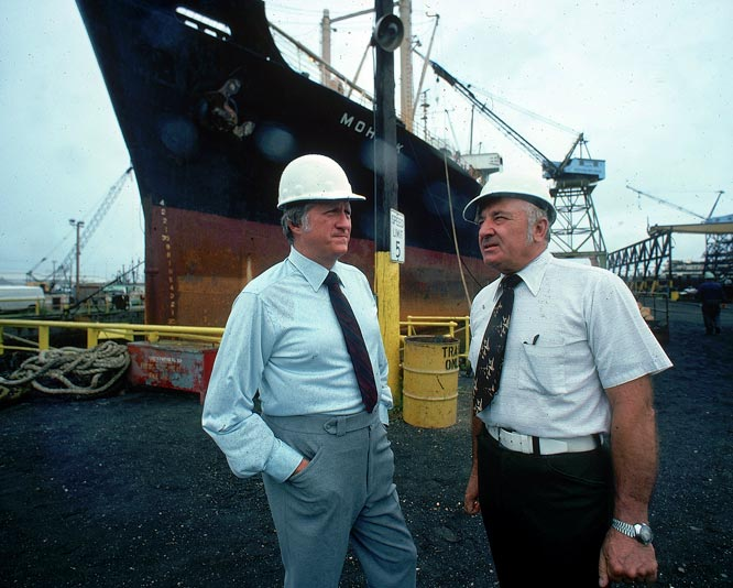Before he took over the Yankees, Steinbrenner was influential in the Cleveland shipping industry. He grew more powerful after merging Kinsman Marine Transit with the American Shipbuilding Company in 1967, paving the way for his eventual purchase of the Yankees.
