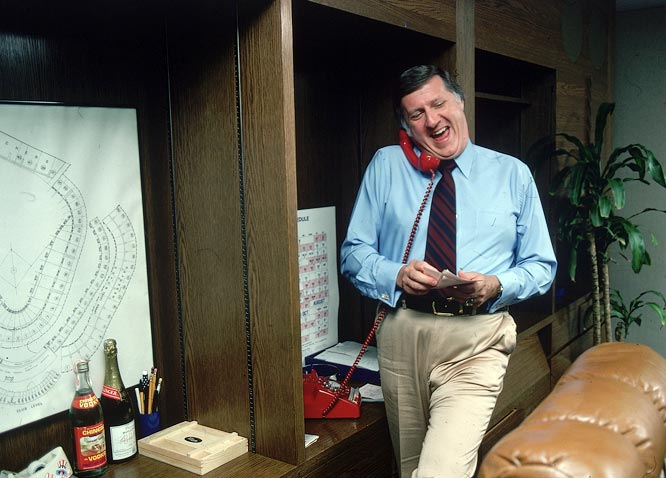 Steinbrenner was a notoriously hands-on owner, always one to be involved in on- and off-field dealings with the Yankees.
