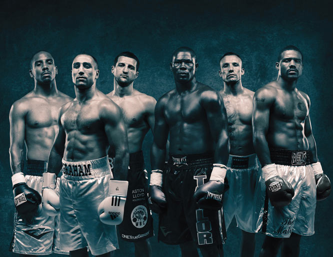 Beginning on Saturday night, in Nottingham, England, and Berlin, Germany, Showtime will begin an 18-month campaign to crown a new king of the 168-pound super middleweight division.<br><br>With an elite field of current and former champs, and a quartet undefeated fighters, the Super Six puts some of the world's top boxers on display.<br><br>To match the unique event, photographer Howard Schatz captured these stunning shots of the tournament's fighters, Andre Dirrell, Andre Ward, Arthur Abraham, Carl Froch, Mikkel Kessler and Jermain Taylor.