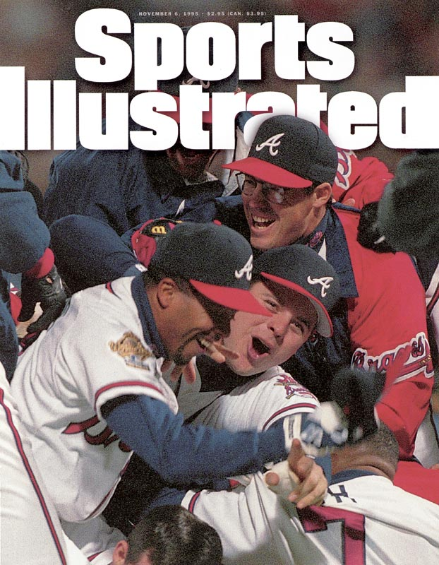 In Game 6, Tom Glavine and Mark Wohlers combine on a one-hitter to defeat the Indians, 1-0, giving the Braves their first World Series since moving to Atlanta. .