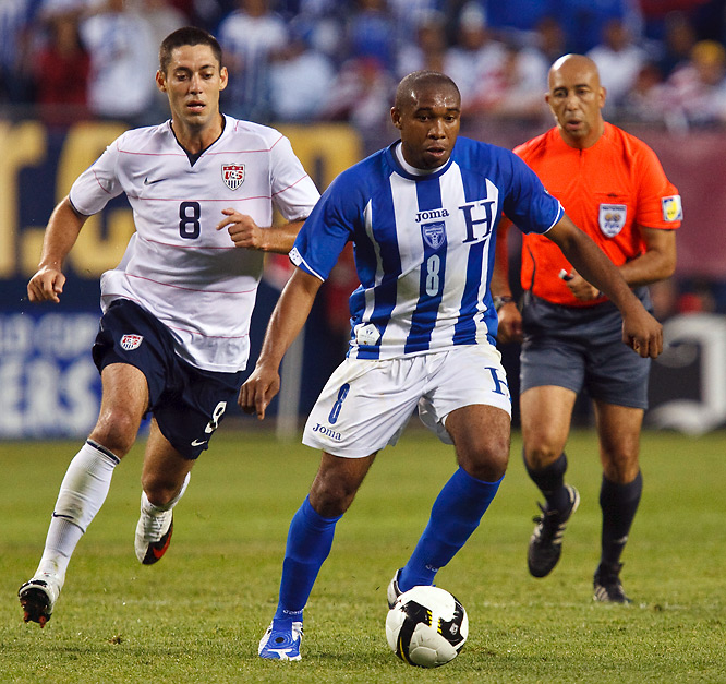 The U.S. has won only one road game in the final round of qualifying, and if Palacios & Co. are their usual selves, it's unlikely the Americans will get a second in San Pedro Sula on Saturday. Honduras has perhaps the best team in its history. One key reason <i>los Catrachos</i> are so tough is the Tottenham central midfielder, a classic box-to-box enforcer just as capable of contributing on offense as he is of busting up the American attack. Without a doubt, he's the biggest concern for Bob Bradley's men.