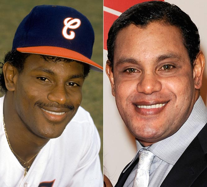 "Sammy Sosa made headlines recently when pictures surfaced of him with much lighter skin than during his playing days. Sosa attributes the change to an elective ""rejuvenation process"" and denies suffering from any type of skin disease. Regardless, the transformation is pretty startling. Here are some other athletes who look quite a bit different from when their careers began."