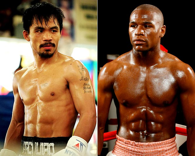 After Manny Pacquiao's recent destruction of Miguel Cotto, and Floyd Mayweather's recent comeback, everyone's clamoring for the top two active pound-for-pound fighters to go head-to-head. The matchup would, undoubtedly, produce a classic and clear No. 1. Could the victor rank among the greatest pound-for-pound brawlers of all time? Well, the fight needs to happen first. Here's a look at some of their landmark bouts to date.