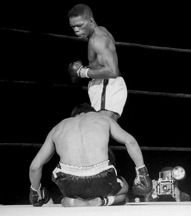 The big-punching Williams -- watch out for that right hand -- held the lightweight title from 1945-51 and beat the cream of the division, including Sammy Angott, Beau Jack and Bob Montgomery.