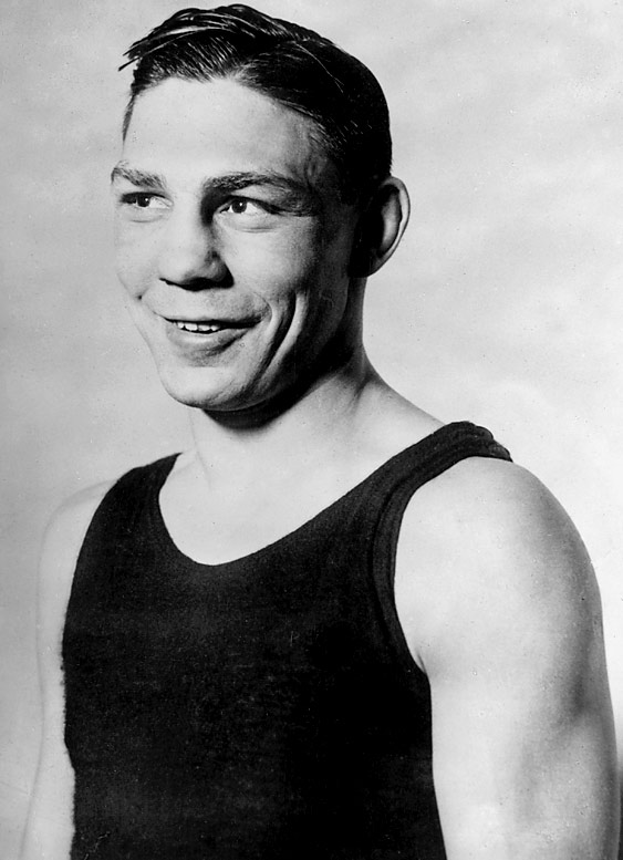 The greatest middleweight ever, Greb fought and beat everyone up to and including heavyweights. Plus, he was blind in one eye for much of his career.