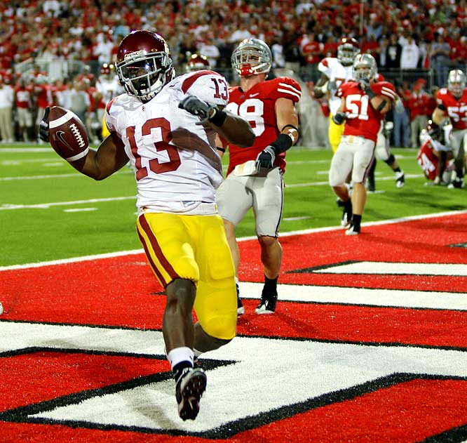 Facing second-and-19 on the USC 5-yard-line, the Trojans went 95 yards in 14 plays as Stafon Johnson capped the drive with a 2-yard touchdown run with 1:05 remaining to give the Buckeyes their sixth straight loss against a top-five team.