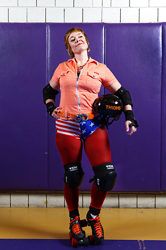 Miss American Thighs has two seasons in the Blocker position.