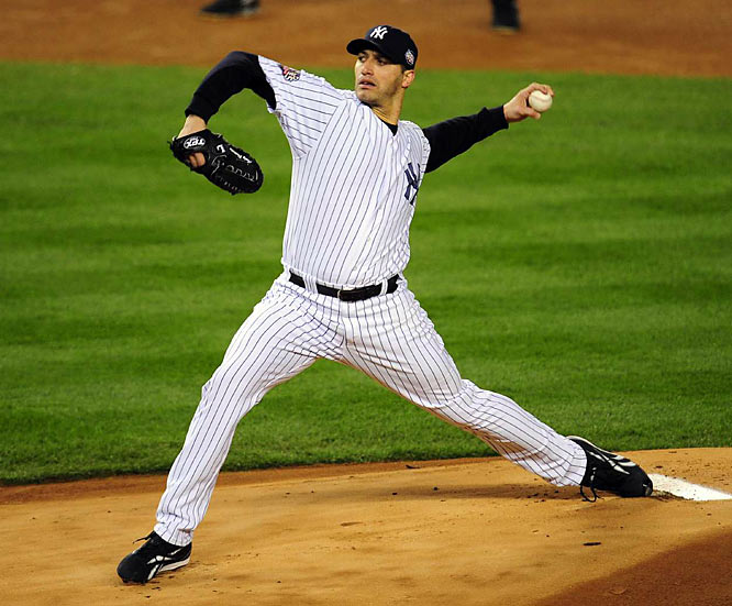 The Yankees sent Andy Pettitte to the mound as they attempted to close out the series. He didn't disappoint.