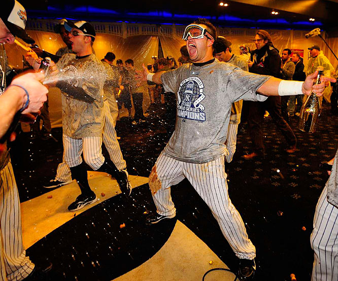 The Yankees haven't had a chance to celebrate a world championship since 2000.