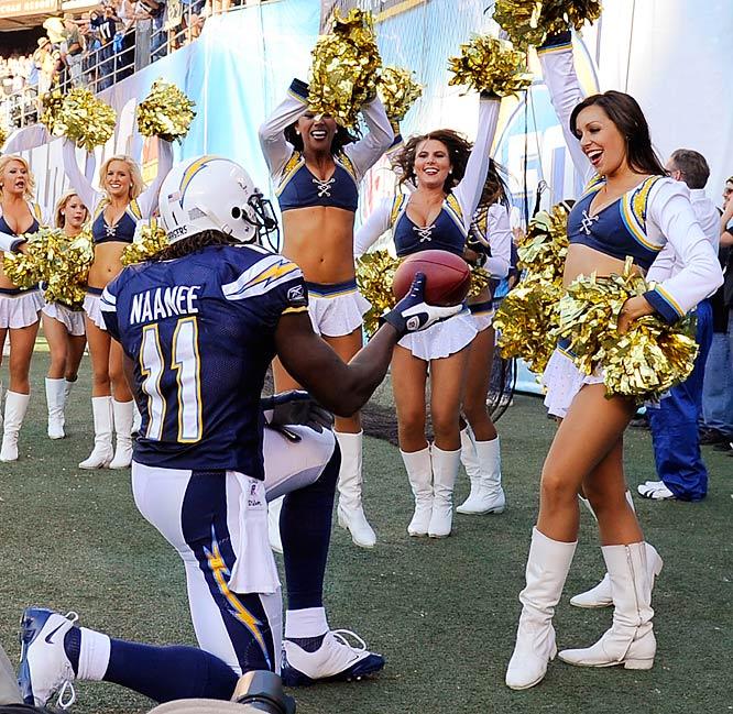 San Diego Chargers Cheerleaders Pictures: NFL Cheerleaders: Week 10