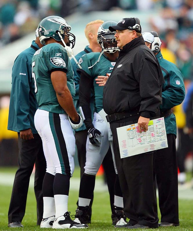 McNabb and coach Andy Reid have been together for 11 seasons.