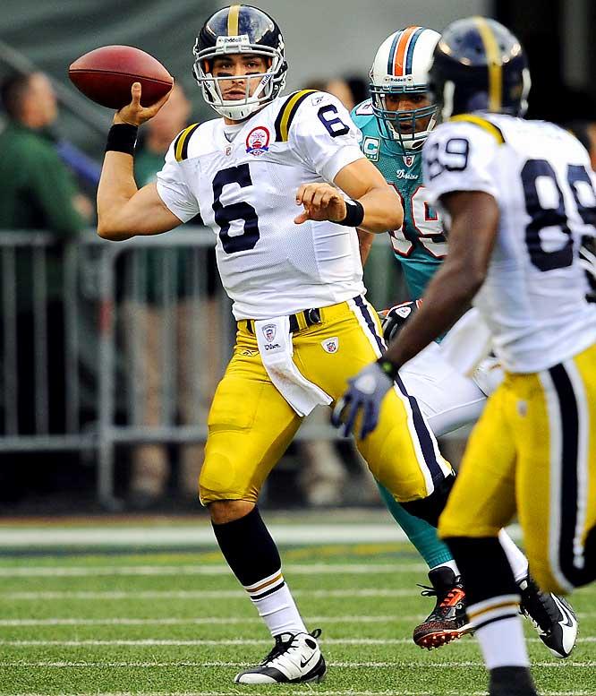 265 passing yards, 2 TDs<br>6 rushing yards, 1 TD