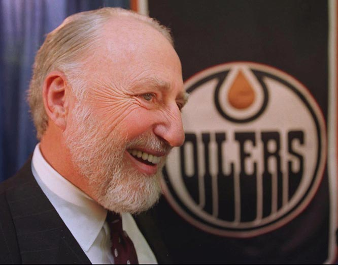 Pocklington, who bought the Oilers in the late 1970s, found immediate success with the arrival of Wayne Gretzky in 1979. The Great One led Edmonton to the Stanley Cup four times during his decade with the Oilers. But Pocklington, who reportedly was in debt, traded Gretzky to Los Angeles for five players and $15 million. Pocklington was sent to jail earlier this year after being arrested on bankruptcy fraud charges. His bail, which was set at $1 million, was posted by former Oilers GM Glen Sather.