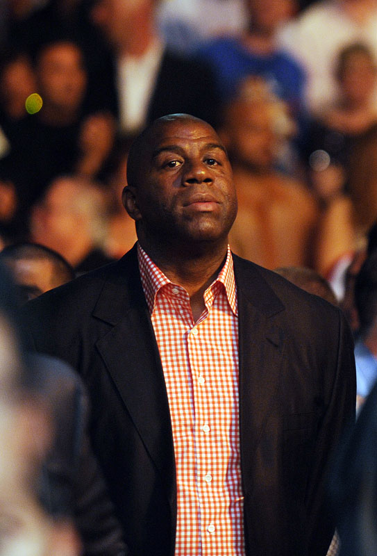 As did NBA legend Magic Johnson.