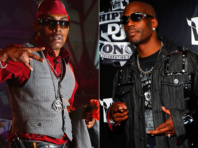 Everyone knows boxing matches are fixed ... at least that's what DMX thought when he signed on for a celebrity bout. He backed out after promoters refused to fix the fight in his favor, causing them to get a replacement fighter -- Coolio. Of course, who else?