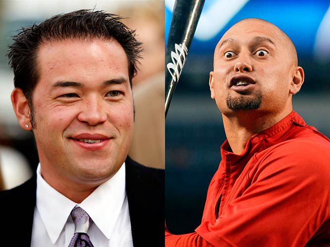 As if losing to the Yankees in the World Series wasn't bad enough, now Victorino is jinxing his very own wedding by inviting Gosselin, formerly of <i>Jon & Kate Plus 8</i>. What? Was Kevin Federline not available?