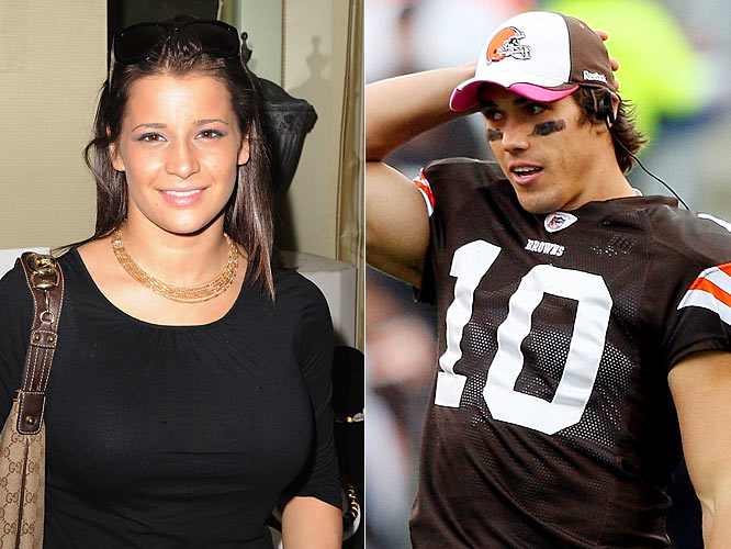 There had to be a reason that Sacramone, one of the star gymnasts at the 2008 Beijing Olympics, was flying to Cleveland and subjecting herself to Browns games almost every week. And now we know: She's dating Quinn, the team's starting quarterback.