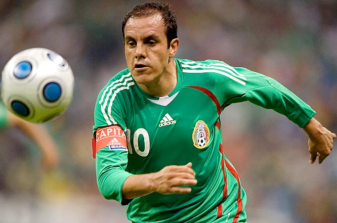 Qualified as: CONCACAF second place  14th World Cup appearance (last in 2006)  Player to watch: Cuauhtémoc Blanco  Odds to win: 100 to 1