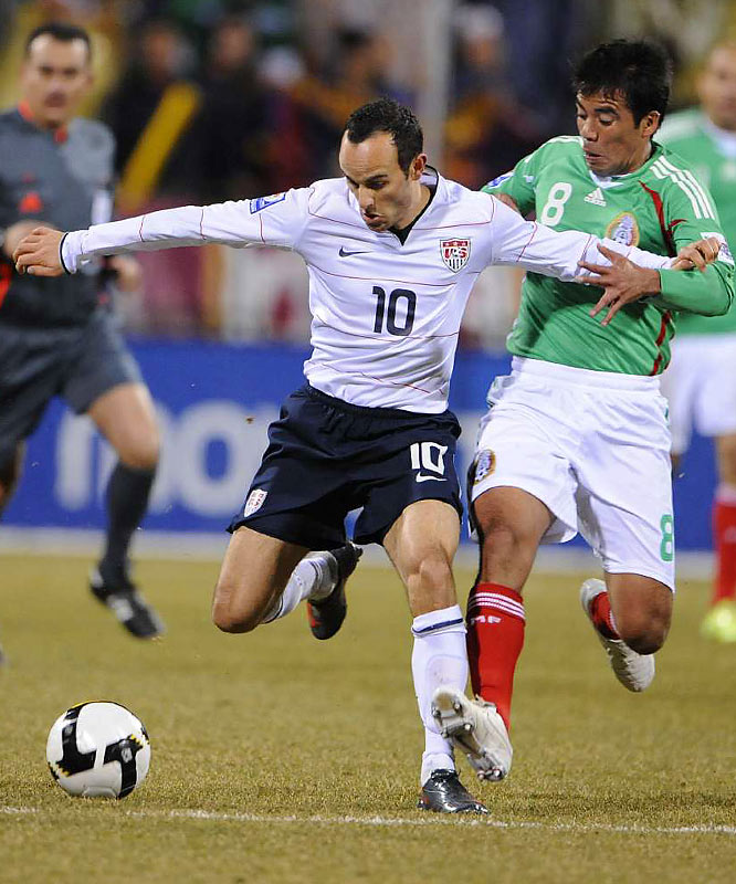 Qualified as: CONCACAF winner  Ninth World Cup appearance (last in 2006)  Player to watch: Landon Donovan  Odds to win: 80 to 1