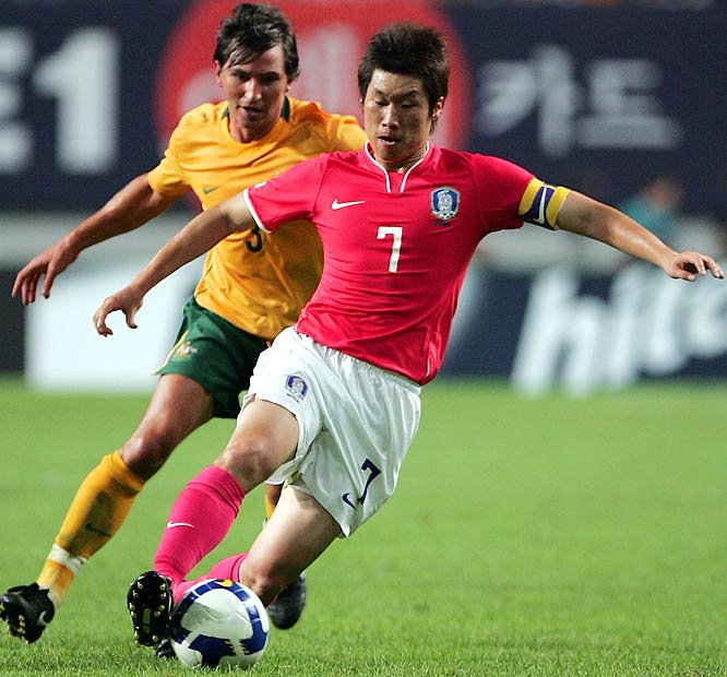 Qualified as: Asia Group B winner  Eighth World Cup appearance (last in 2006)  Player to watch: Park Ji-Sung  Odds to win: 250 to 1