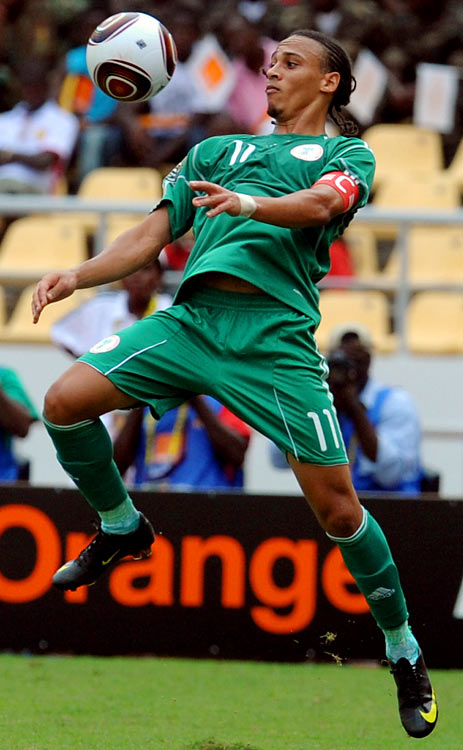Qualified as: Africa Group B winner  Fourth World Cup appearance (last in 2002)  Player to watch: Peter Odemwingie  Odds to win: 100 to 1