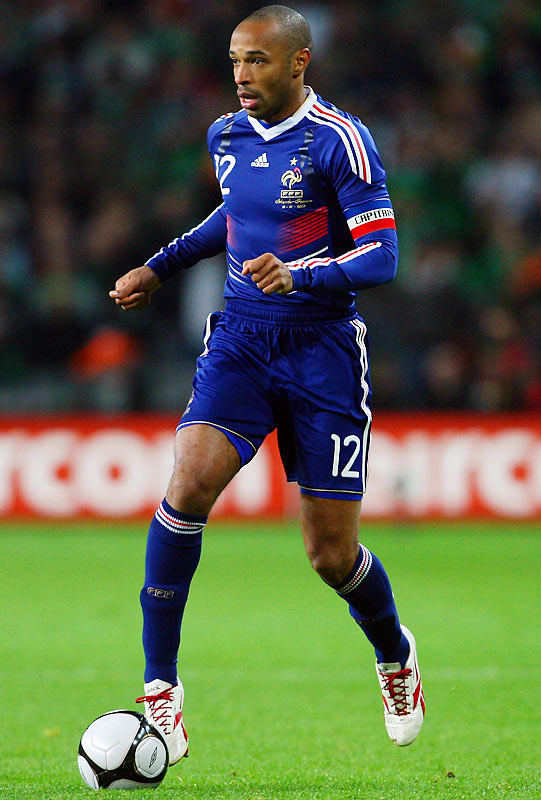 Qualified as: European playoff winner  13th World Cup appearance (last in 2006)  Player to watch: Thierry Henry  Odds to win: 16 to 1