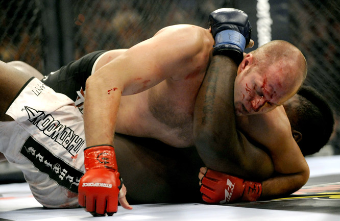 Even with a battered nose, 33-year-old Fedor used his submission skills, quickness and powerful punches to outdo the challenger.