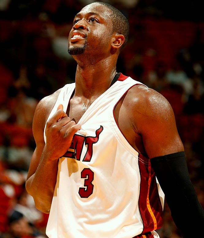 <i>Dwyane Wade joins the list of celebrities asking their followers for advice.</i><br><br>''Twitter family. Question. What do u do when u love somthing or someone but u feel thy might love something more then u?'' <br>(6:38 PM Nov 2)
