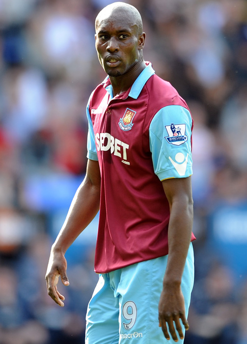 "Carlton Cole was fined 20,000 pounds ($32,790) for Twitter comments made during England's friendly against Ghana. The West Ham United striker said of Wembley Stadium  ""Immigration has surrounded the Wembley premises! I knew it was a trap! Hahahaha ... The only way to get out safely is to wear an England jersey and paint  your face w/ the St. George's flag!"""