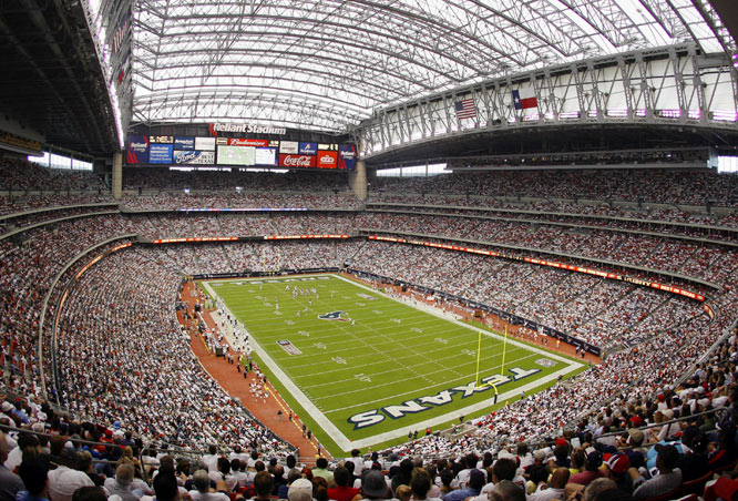 The largest indoor public assembly space in Texas, Reliant Stadium is famous for more than just being the first retractable-roof facility in the NFL. The multipurpose space has played host to numerous international soccer matches, the Houston Livestock Show and Rodeo, concerts and Super Bowl XXXVIII. How big is it really? The Astrodome, once known as the eighth Wonder of the World, would fit completely inside of Reliant Stadium.
