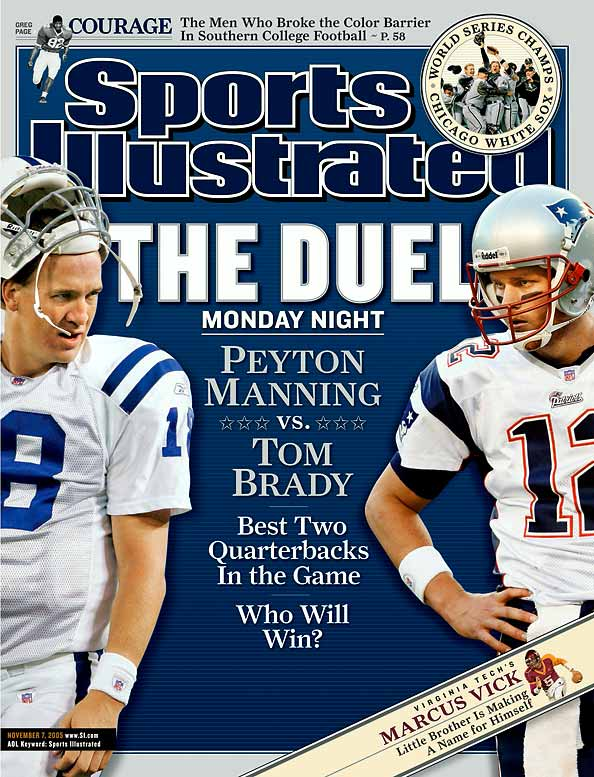 Manning-Brady, Belichick-Dungy -- you can't beat that with a stick. The Pats won six straight from 2001 to 2004. The Colts have won five of six since. To say there's some distrust between the two organizations might be slightly understated. The Pats are sure the Colts jacked up the noise on the speakers every time they played in the RCA Dome. The Colts have been careful about security every time they go to Foxboro. And with Tom Brady and Peyton Manning not retiring anytime soon, this one should be the best rivalry for a few years to come.