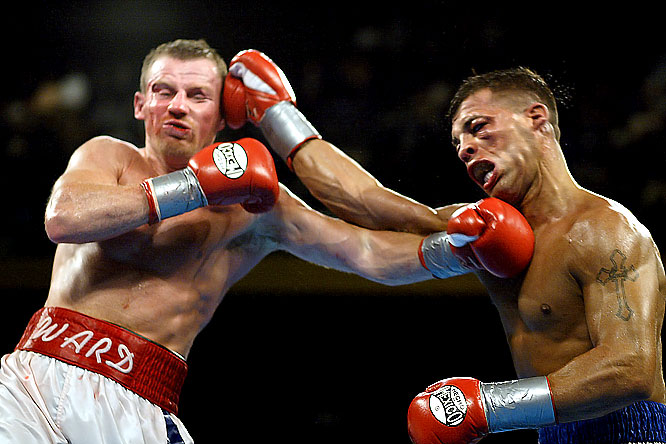 Their trilogy offered fans an old-school thrill that had been missing from most of the decade's superbouts. Their first fight, on May 18, 2002, was a 10-round extravaganza of give-and-take violence, highlighted by a ninth round of almost cartoonish ferocity in which both men were nearly finished off. Ward won that one by narrow decision. The next two bouts, both won by Gatti, were, if not quite as spectacular, just as gloriously two-sided.