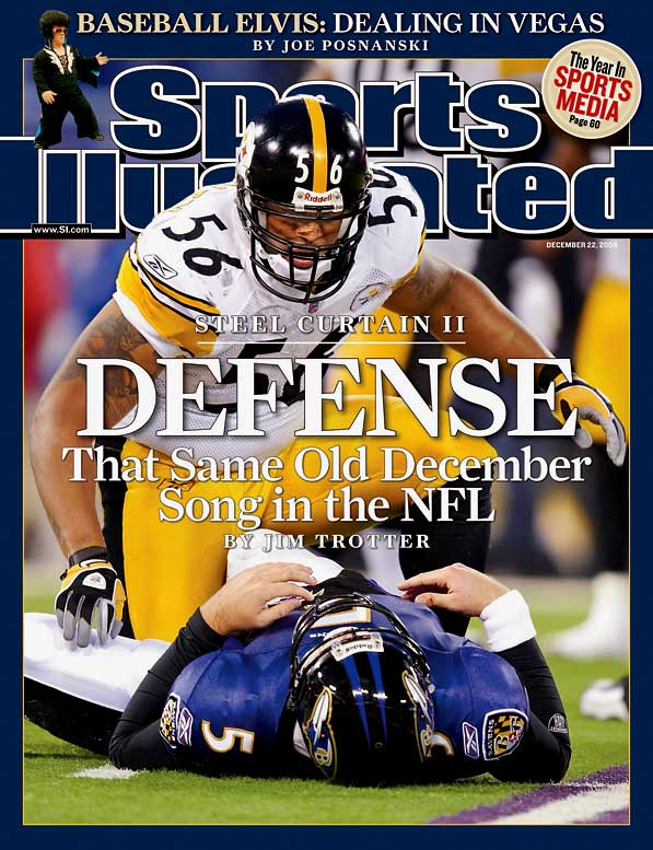 Here's all you need to know about this matchup: In 2003, the Steelers' Joey Porter and the Ravens' Ray Lewis had to be separated during the coin toss before a season finale that had no playoff-seeding implications. The rivalry is equal parts bad blood and hard hitting, and that the teams often play high-stakes games elevates national interest.