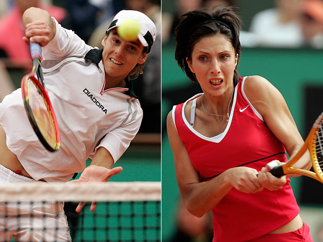 They'll always have Paris. Gaudio has not been past the fourth round of a major with the exception of his victory at Roland Garros. He ended 2009 ranked No. 171. Myskina peaked at No. 2 the year she won the French, but injuries derailed her career. Unlike Gaudio, however, she advanced to the quarterfinals in all four Grand Slams.
