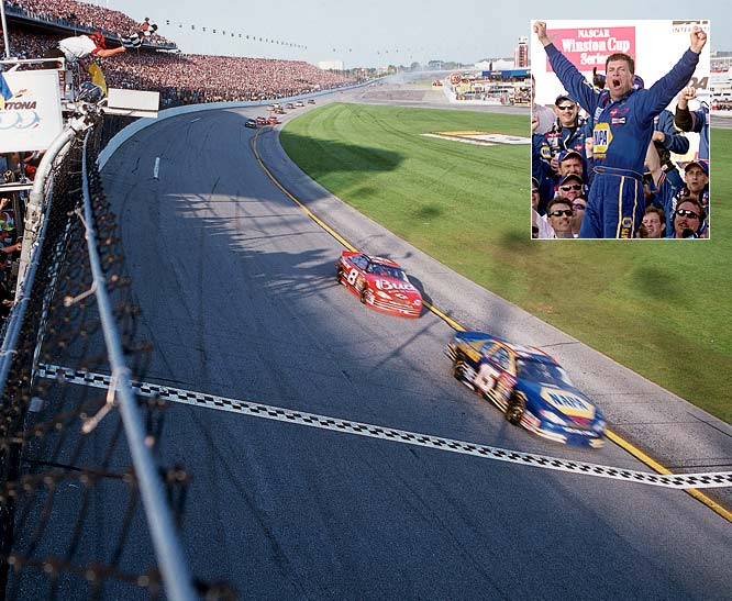 One of racing's most personable drivers took home the sport's biggest prize and snapped a 463-race winless streak in his first start with Dale Earnhardt Inc. One could argue he doesn't belong on this list considering he also won the Daytona 500 in 2003, but that rainy race was called near the halfway point. In five years with DEI, Waltrip never finished higher than 14th in points and had almost as many DNFs (32) as top 10 finishes (40). Switching to a driver/owner role in 2006 made things worse -- he has only one top five in four years.