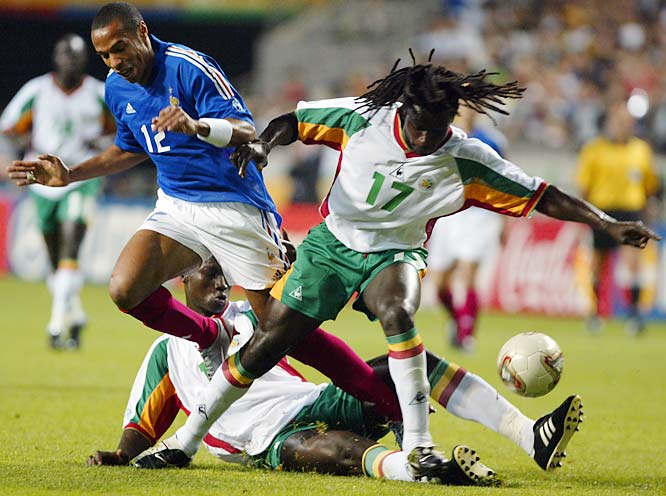 In its first and only World Cup appearance, Senegal made a surprising run to the quarterfinals, remembered most for a 1-0 opening victory against France, which controlled Senegal as a colony until 1960. Senegal failed to reach the World Cup in 2006 and 2010, and it didn't do much in the African Cup of Nations this decade, either.