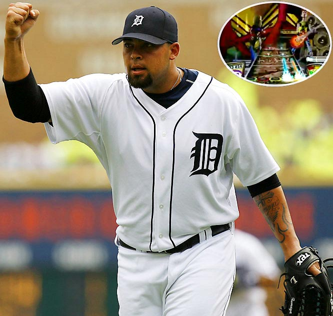 The Tigers' hard-throwing rookie reliever missed three games of the 2006 American League Championship Series because of a sore wrist, which general manager Dave Dombrowski later said was the result of too many hours spent playing the popular PlayStation game.