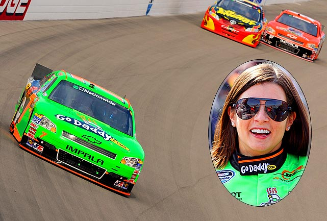 In the 16th race of her NASCAR career, Patrick finished fourth in the Nationwide stop at Las Vegas, the highest ever by a woman in a national NASCAR race. The previous best was in 1949, a fifth by Sara Christian in Pittsburgh.
