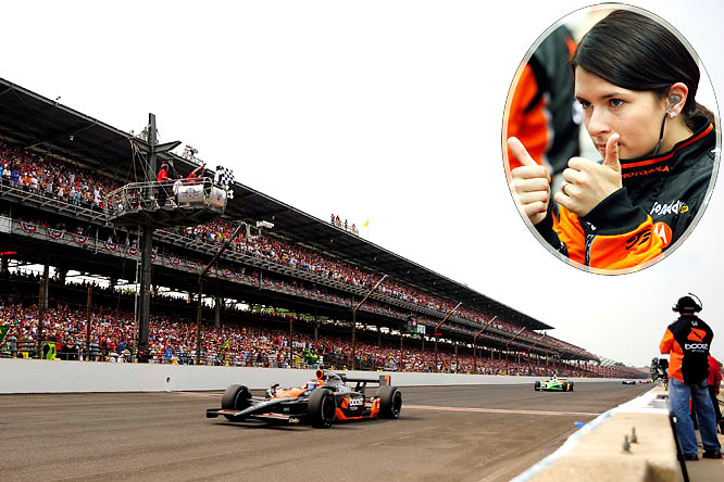 Patrick's third-place finish was overshadowed by Helio Castroneves' winning his third Indianapolis 500 just six weeks after being acquitted in a federal income tax evasion trial. Still, it was a milestone moment: the highest any female driver has ever finished in the world's biggest race.
