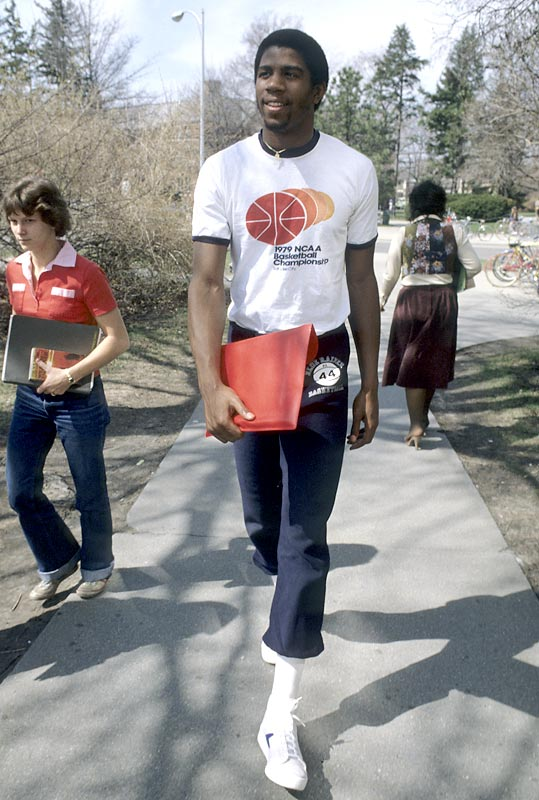 Magic Johnson: The College Years | SI.com