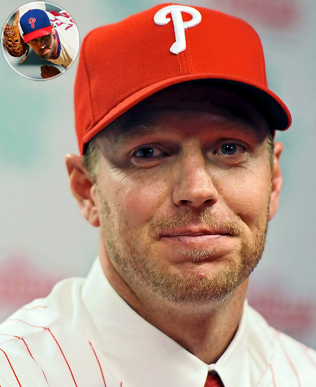 Roy Halladay and Cliff Lee were the talk of the trade market in July, but only one of them wound up getting dealt. When the Phillies couldn't pry Halladay from the Blue Jays they settled for acquiring Lee, the reigning AL Cy Young winner, from Cleveland, and he helped pitch Philadelphia to a second straight NL pennant. In December, the Phillies finally got Halladay, but it cost them Lee, who was shipped to the Mariners as part of a three-team trade that was the first ever to involve two Cy Young winners.