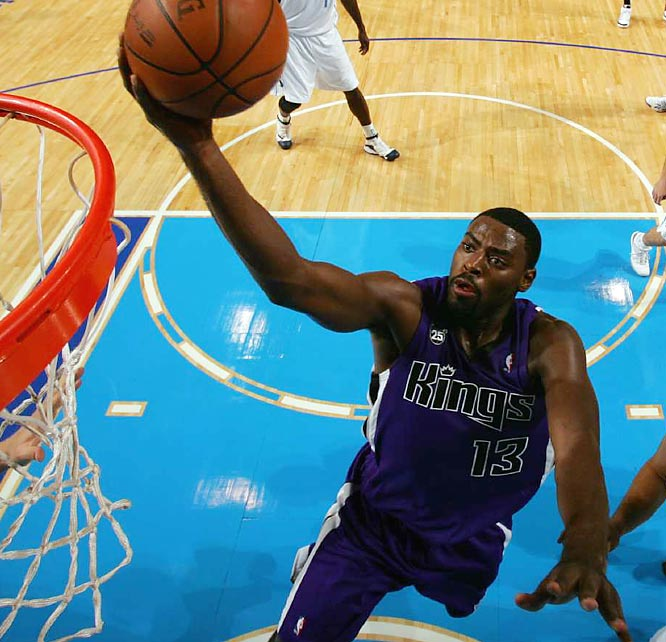 Yes, they've only won once on the road. But the Kings, coming off a 17-win season, have hovered around .500 even though their most accomplished player, high-scoring guard Kevin Martin, has played only five games because of injury. Led by rookie sensation Tyreke Evans (pictured), Sacramento ranks in the top seven in scoring, shooting and offensive inefficiency.